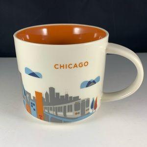 Starbucks You Are Here - Chicago 2017 Mug New